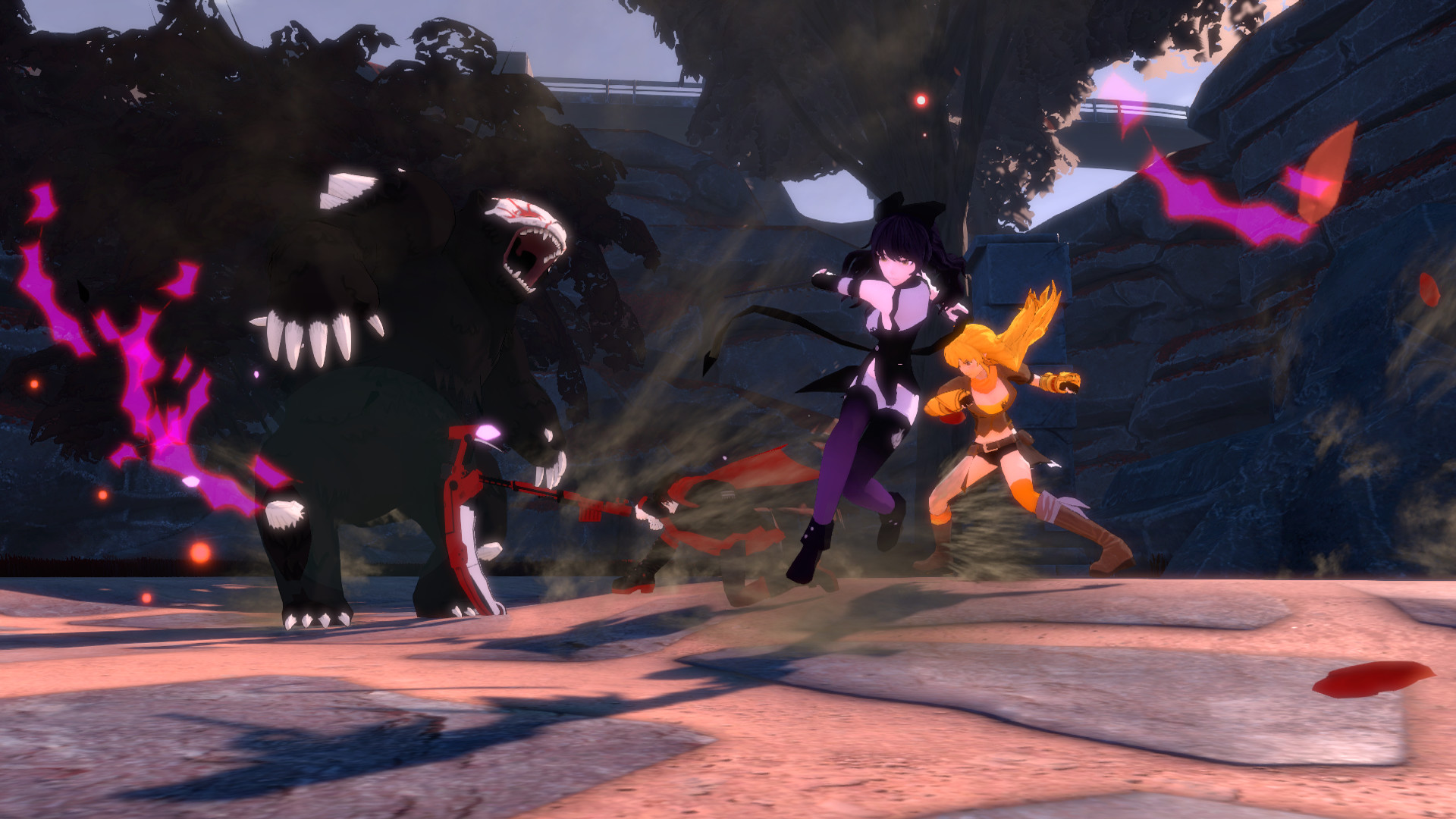 RWBY: Grimm Eclipse Screenshot 3