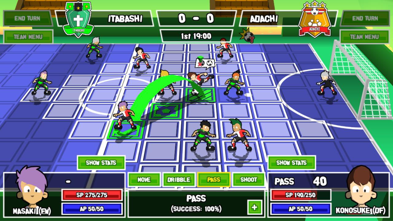 Super Striker Game
