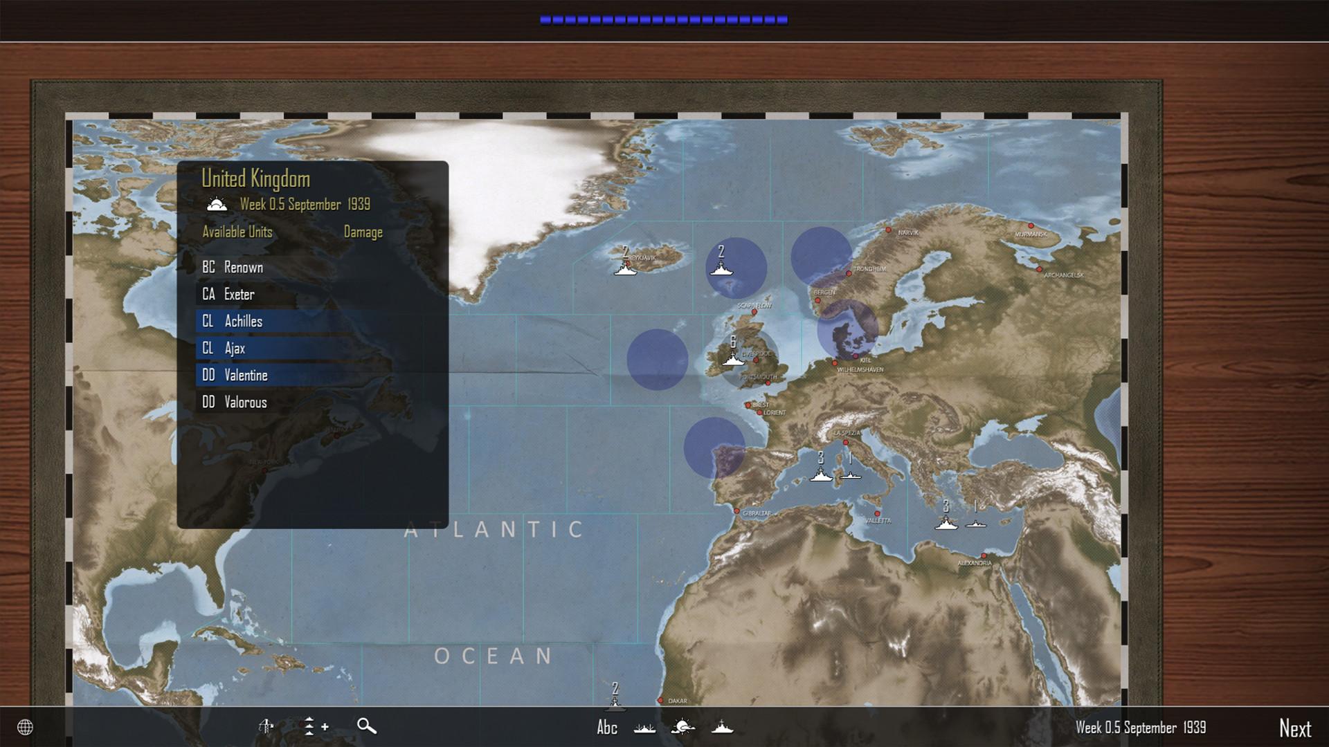 Atlantic Fleet screenshot 3