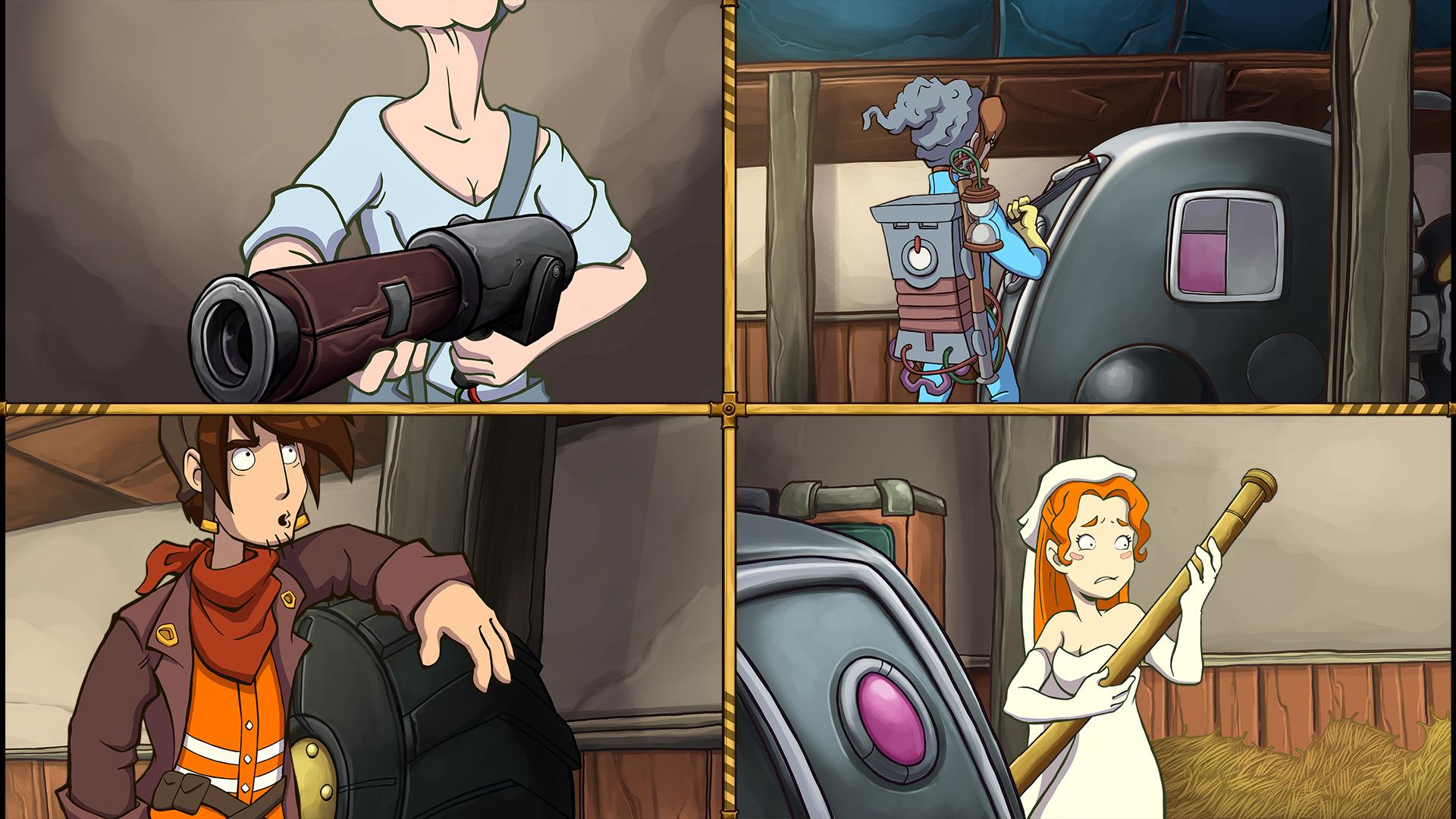 Deponia 4: Deponia Doomsday screenshot 3