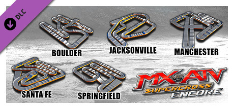 MX vs. ATV Supercross Encore - Supercross Track Pack 4