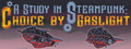 A Study in Steampunk: Choice by Gaslight-game