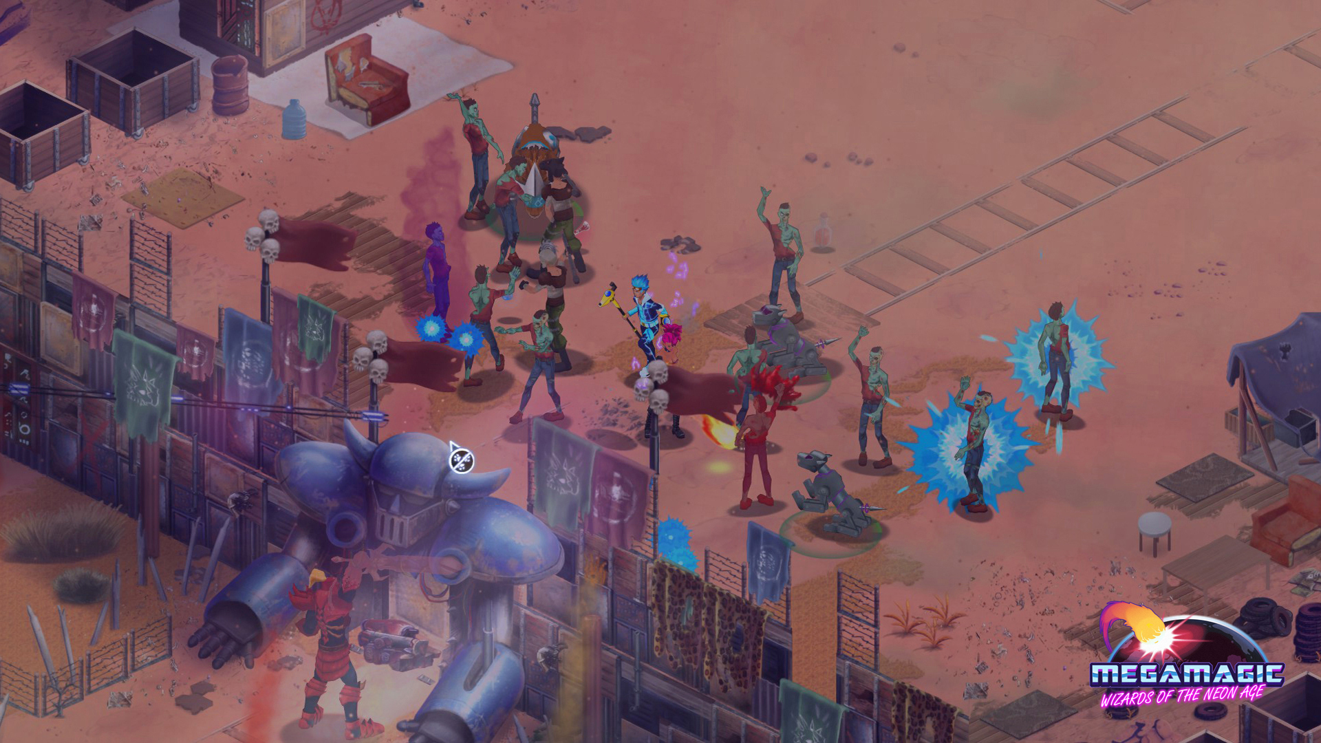 Megamagic: Wizards of the Neon Age screenshot 1