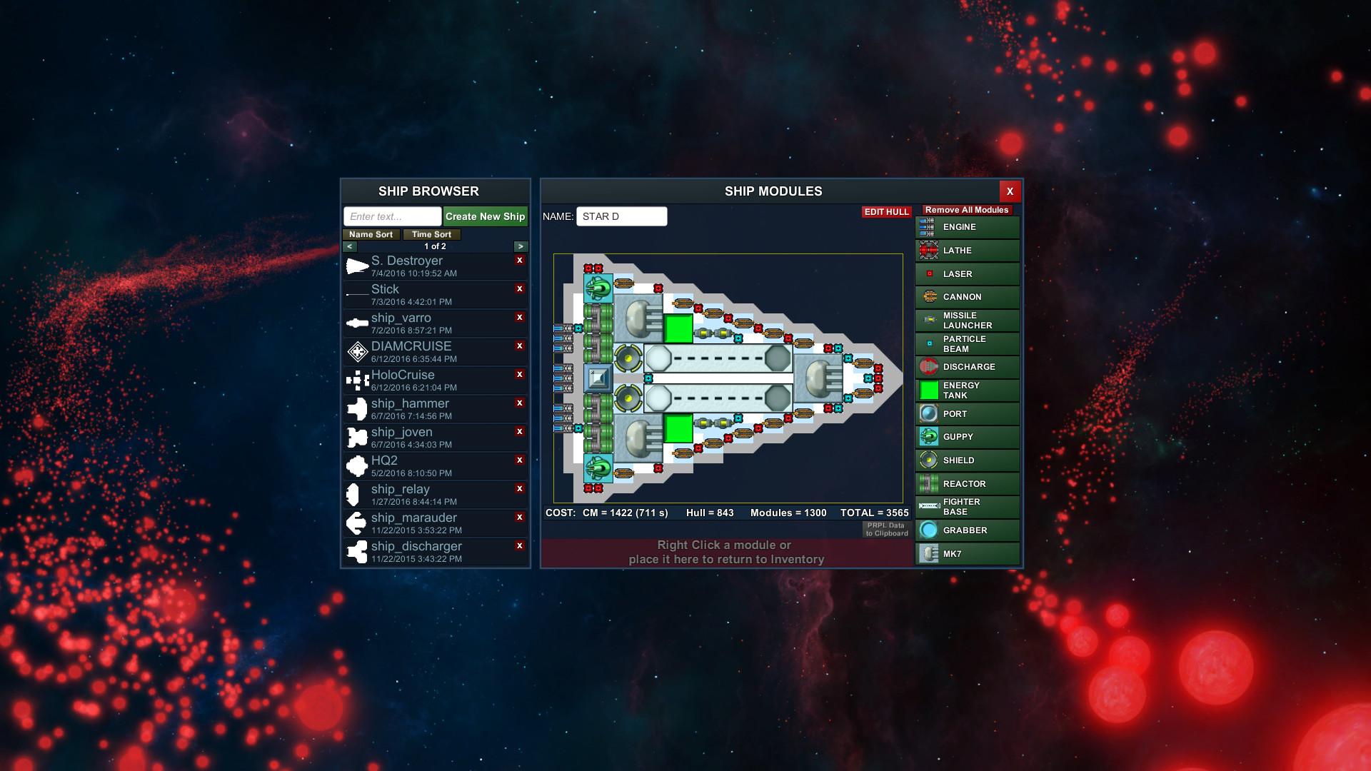 Particle Fleet Emergence Screenshot 1
