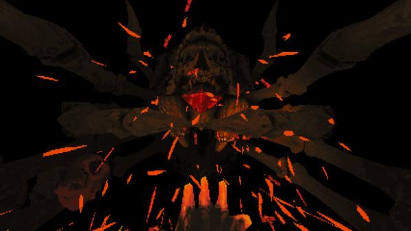 Screenshot of Devil Daggers