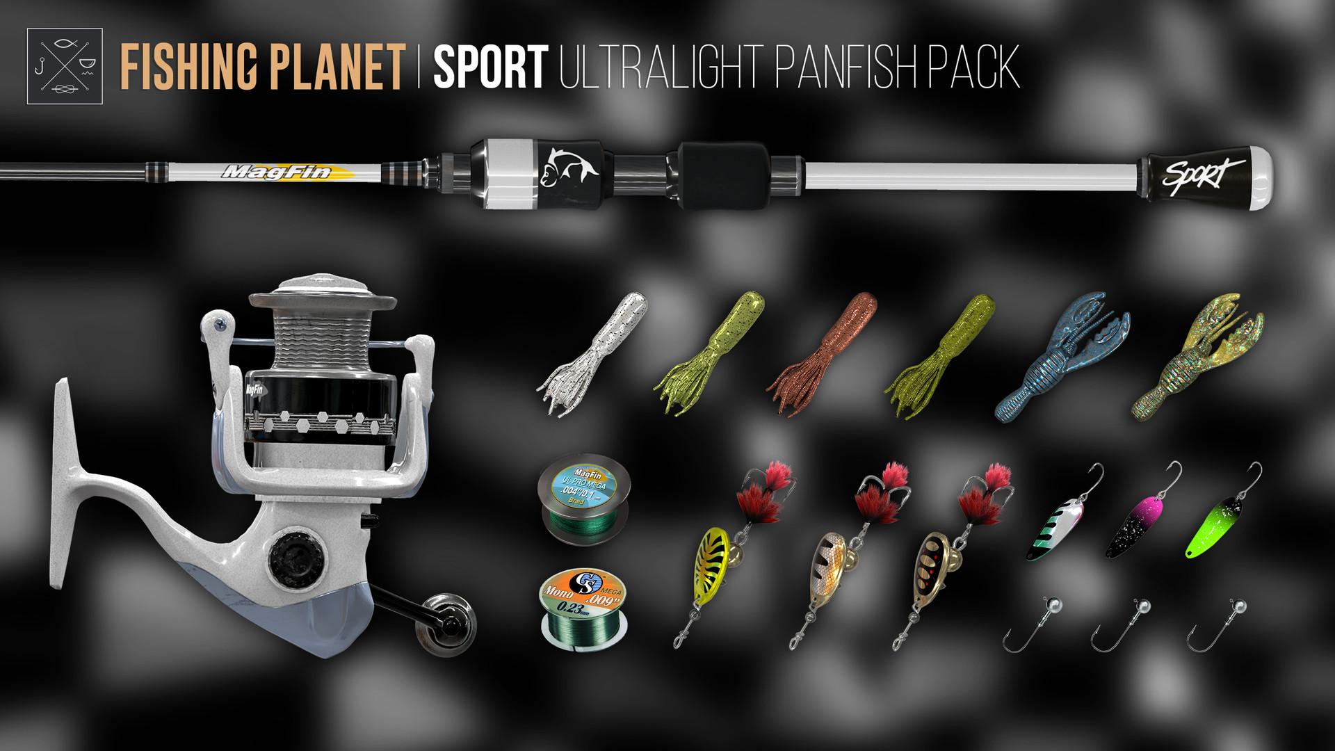 Sport ultralight panfish pack download free pc