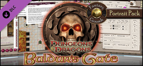 Fantasy Grounds - Baldur's Gate Portrait Pack