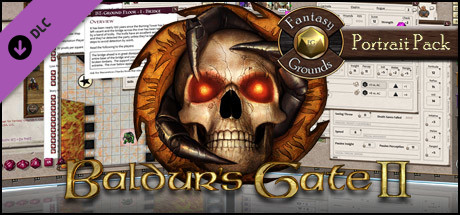 Fantasy Grounds - Baldur's Gate II Portrait Pack
