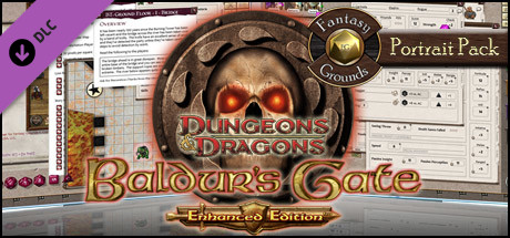 Fantasy Grounds - Baldur's Gate Enhanced Portrait Pack