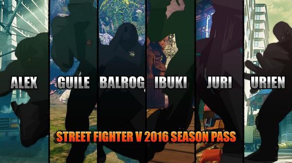 Street Fighter V Season 1 Character Pass On Steam