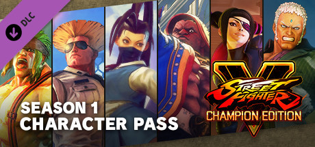 Street Fighter V - Season 1 Character Pass