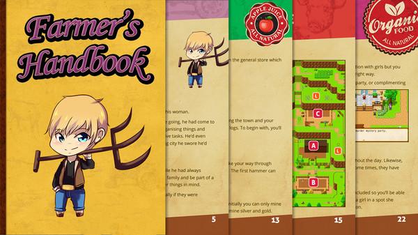 скриншот Our Love Will Grow - Farmer's Handbook 0