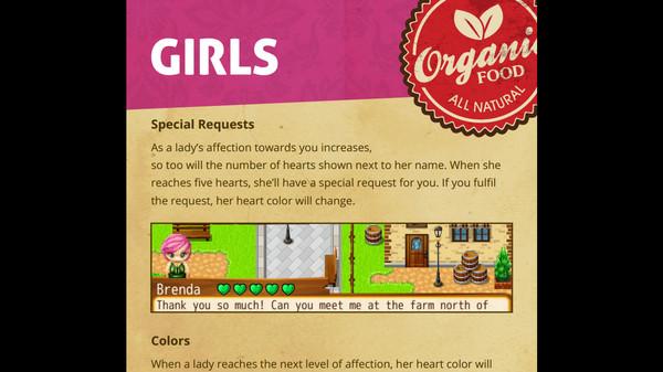 скриншот Our Love Will Grow - Farmer's Handbook 2