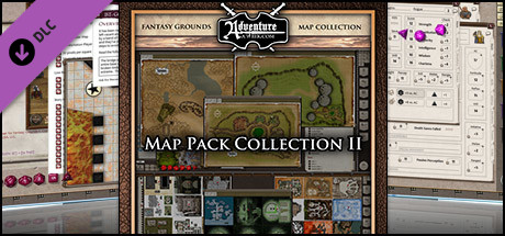 Fantasy Grounds - AAW Map Pack Vol 2