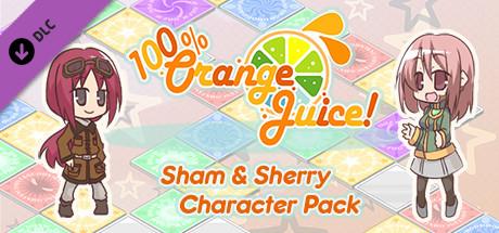 100% Orange Juice - Sham & Sherry Character Pack cover art