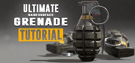 Ultimate Grenade Tutorial - Hardsurface 3D Course