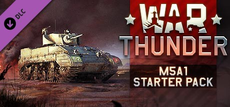 War Thunder - M5A1 Starter Pack