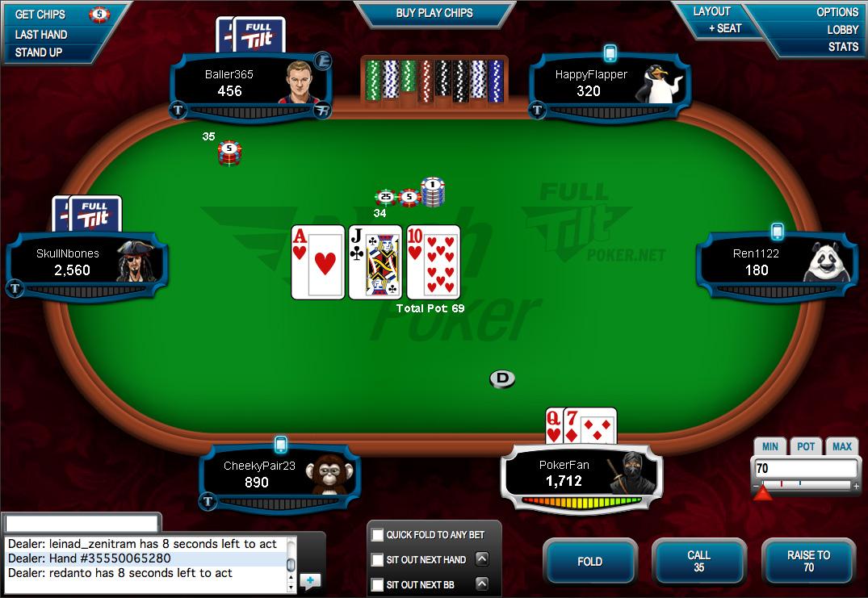 Online Poker - Full Tilt - Experience More