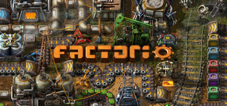 Factorio cover art