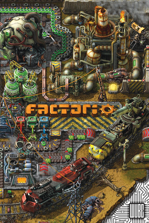 Factorio poster image on Steam Backlog