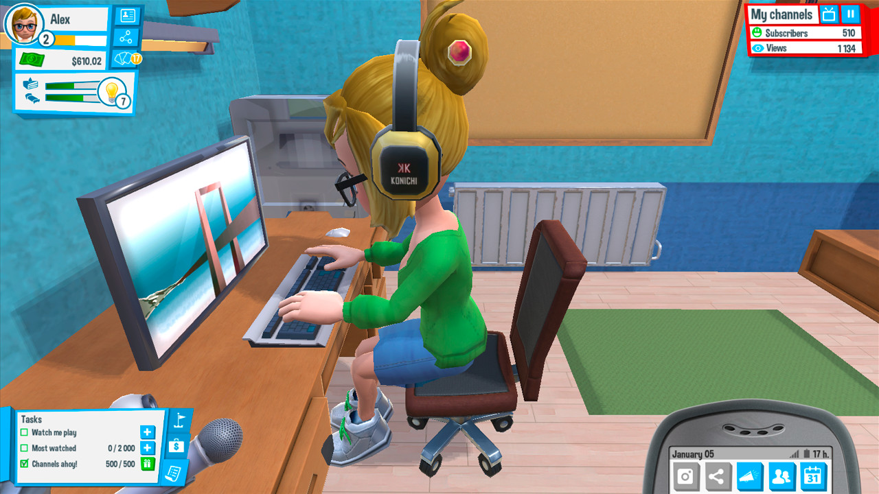 Youtubers Life Screenshot 1