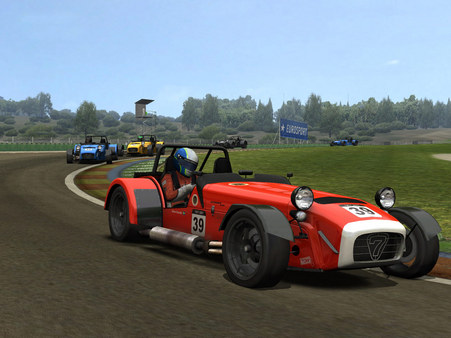 Скриншот из RACE: Caterham Expansion