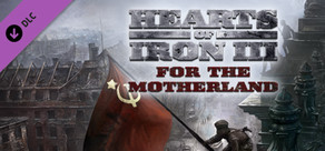 Hearts of Iron III: For the Motherland cover art