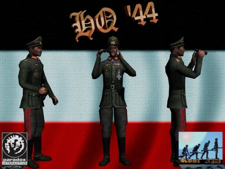 Hearts of Iron III: Mega German Spritepack (DLC)