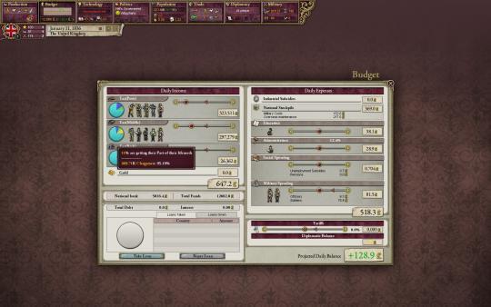 скриншот Victoria II 4