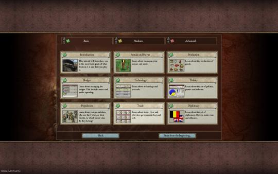 скриншот Victoria II 1