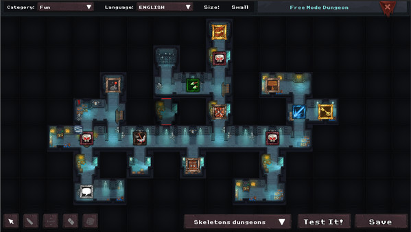 2D Tactical RPG 'Dungeon Rushers' is a game you may want to