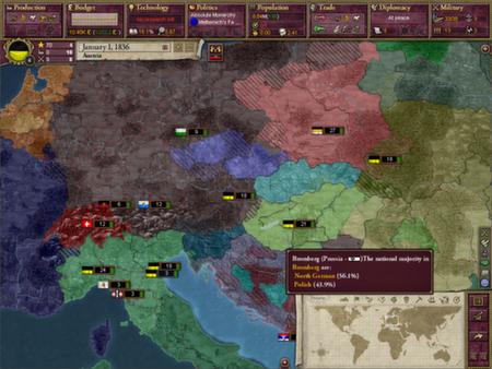 скриншот Victoria II: A House Divided 0
