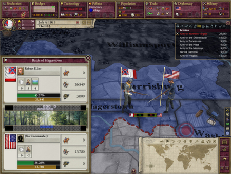 скриншот Victoria II: A House Divided 2