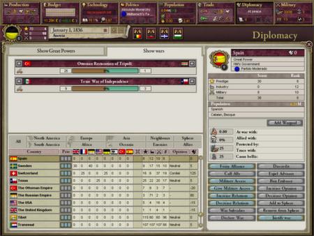 скриншот Victoria II: A House Divided 1