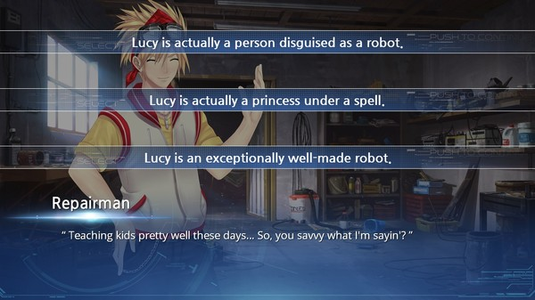 Screenshot of Lucy -The Eternity She Wished For-