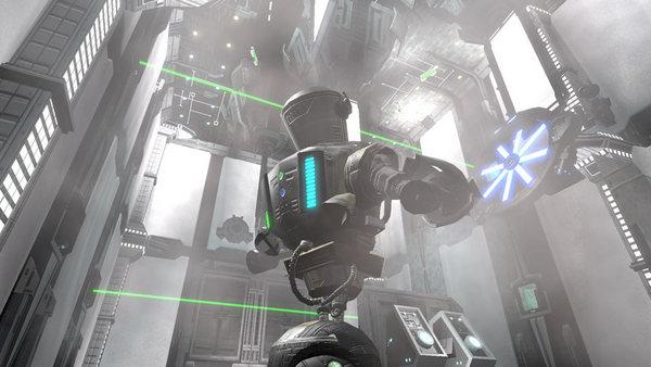 Скриншот из RoboBlitz Demo