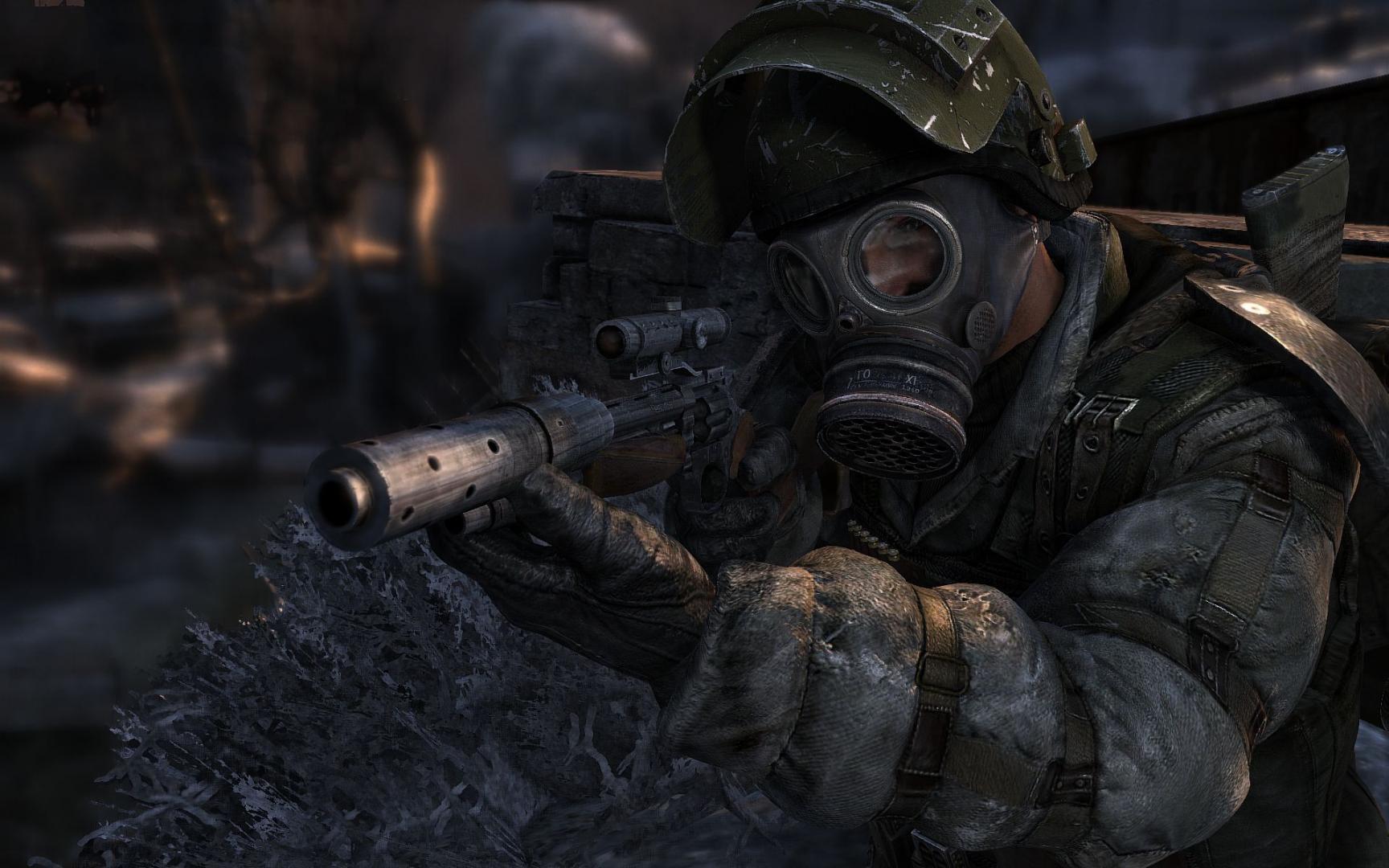 Metro 2033 screenshot