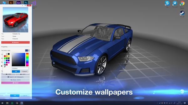 Wallpaper Engine Free Steam Key 1