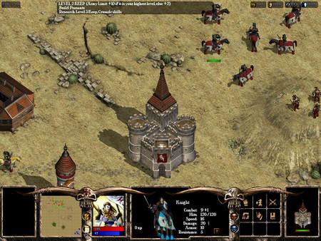 Screenshot of Warlords Battlecry III