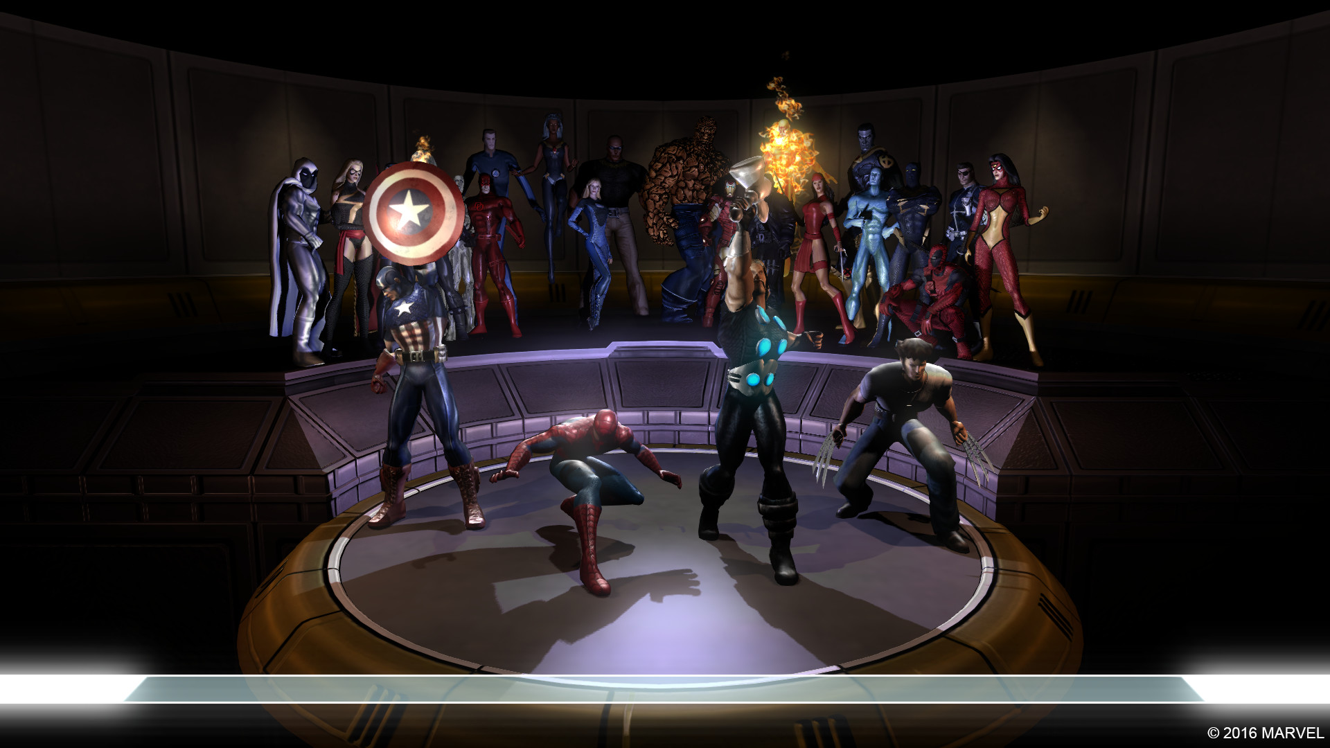 Marvel Ultimate Alliance ScreenShot 1