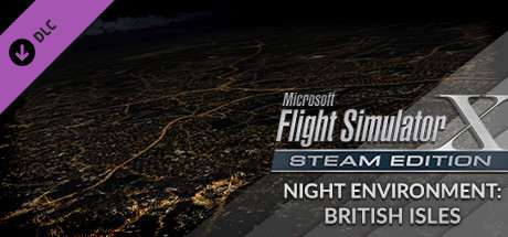 FSX Steam Edition - Night Environment: British Isles Add-On