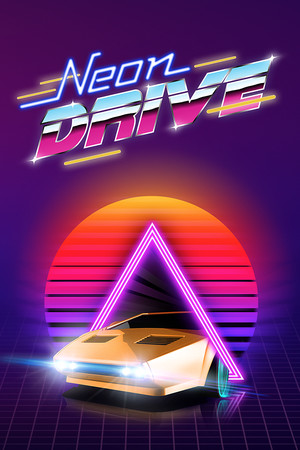 Neon Drive poster image on Steam Backlog