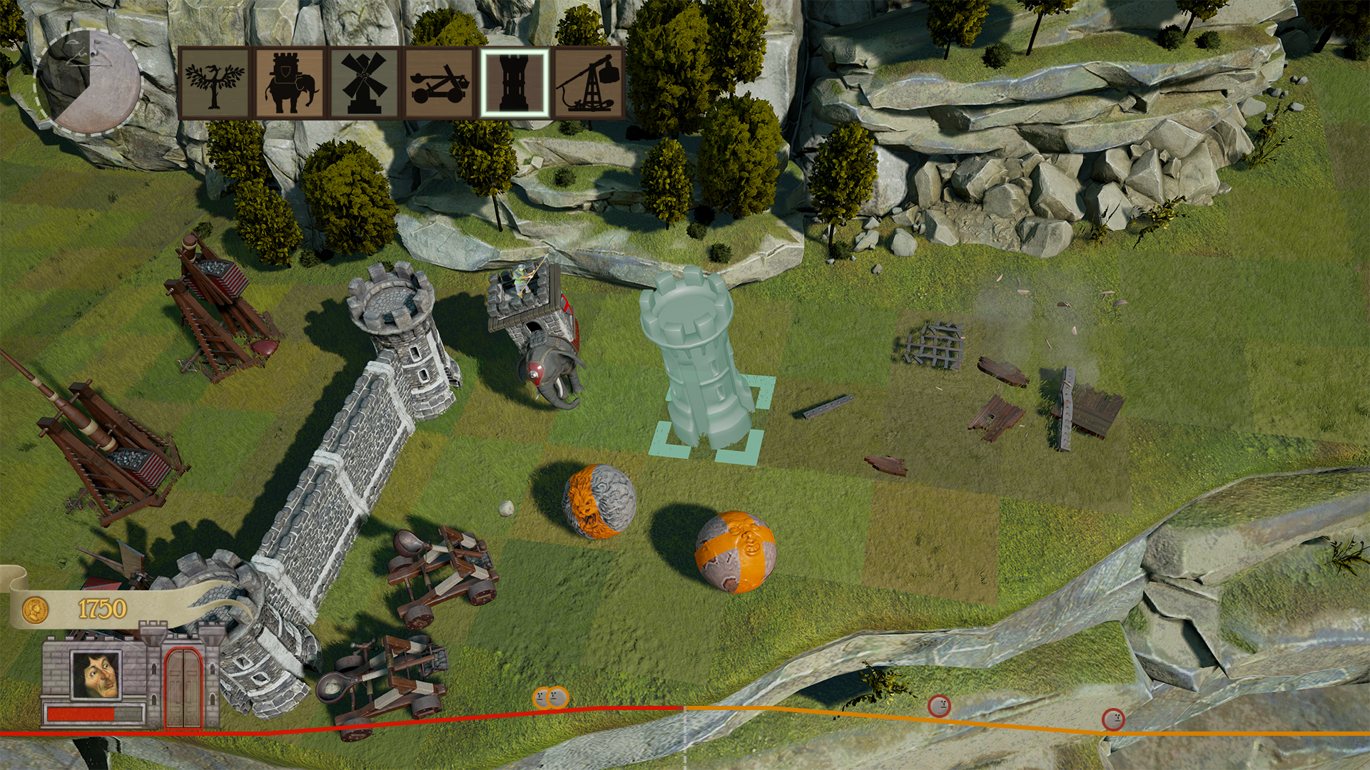 Rock of Ages 2: Bigger & Boulder Screenshot 2