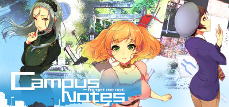 Campus Notes - forget me not.