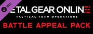 METAL GEAR SOLID V: THE PHANTOM PAIN - MGO Appeal Action Pack 2