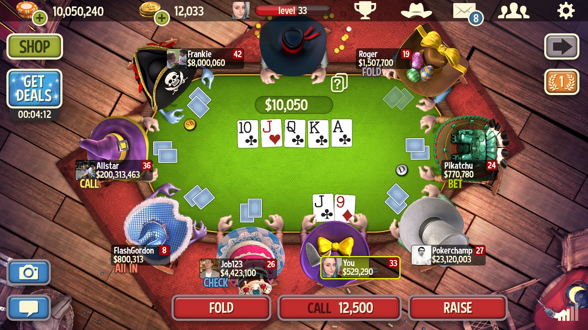 youda games- governor of poker free download