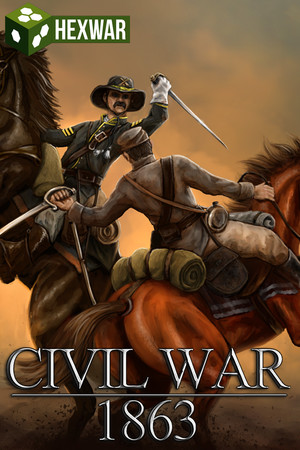 Civil War: 1863 poster image on Steam Backlog