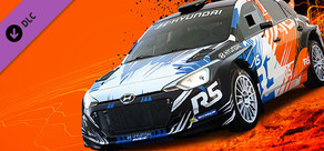Hyundai R5 rally car