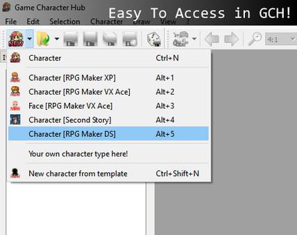 Скриншот из Game Character Hub: DS Generator Parts