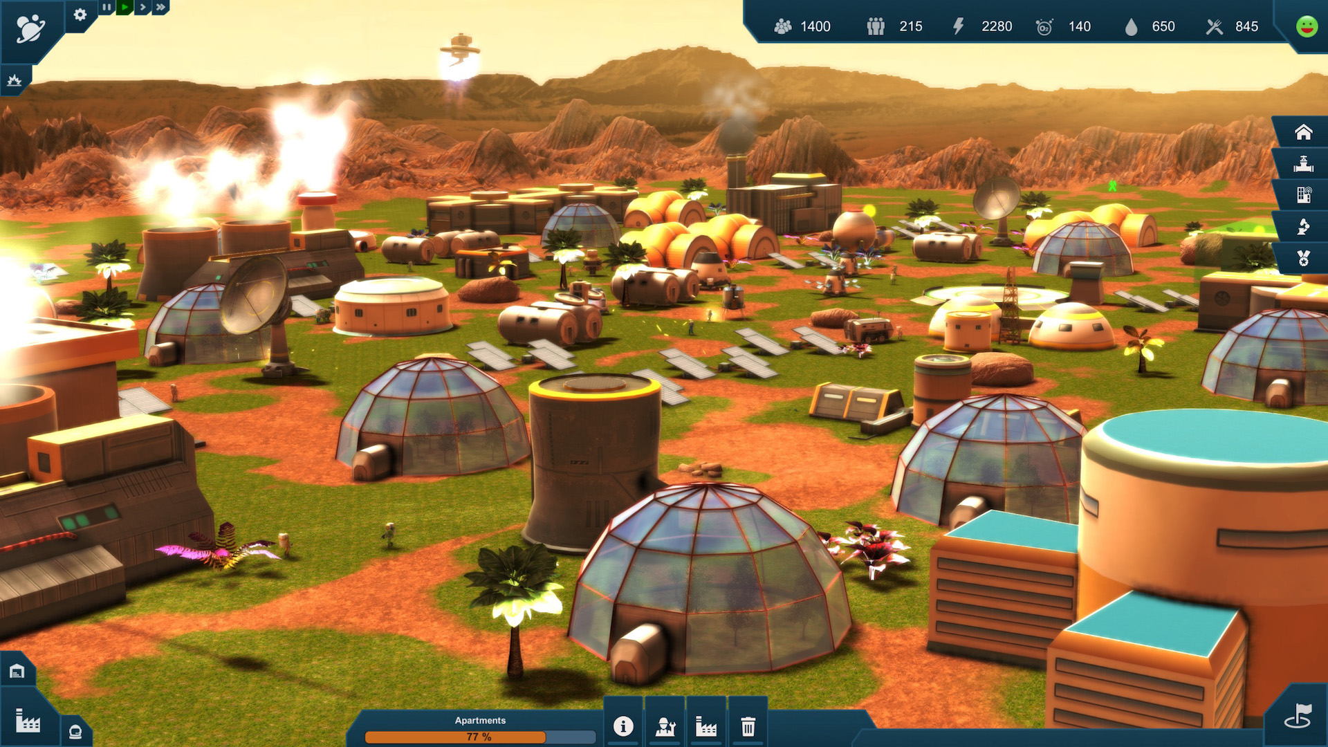 Earth Space Colonies Screenshot 1